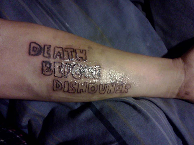 why stupid shouldn t get tattoos