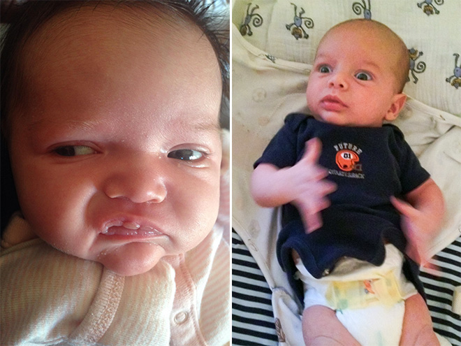 Hilarious Baby Pooping Faces