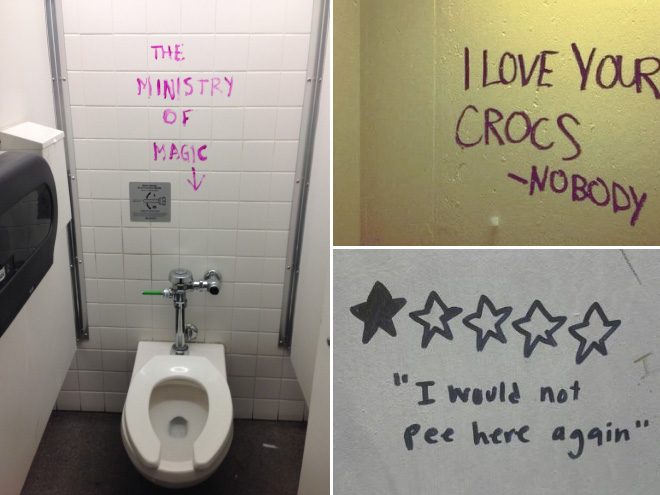 Gallery Of Hilarious Toilet Graffiti