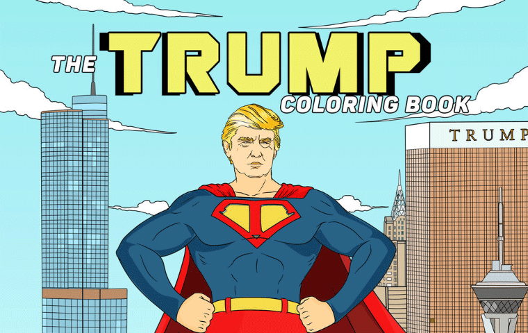 Donald Trump Coloring Book