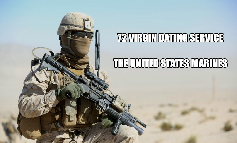 72 virgins dating service usmc