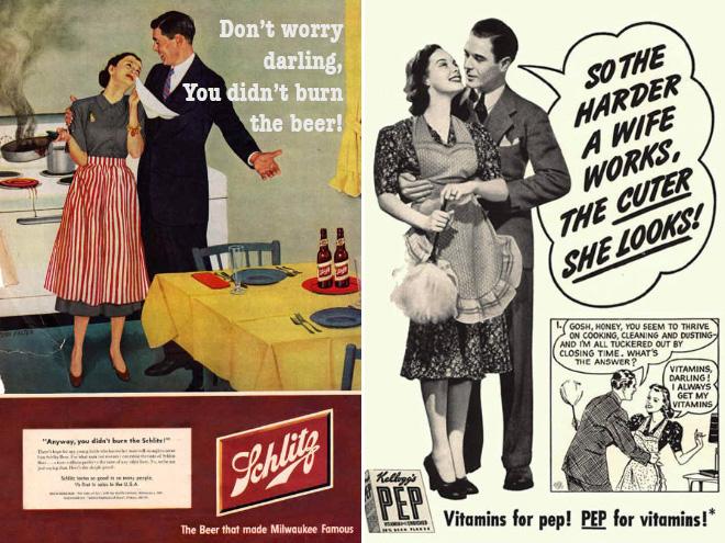Shockingly Sexist Vintage Ads