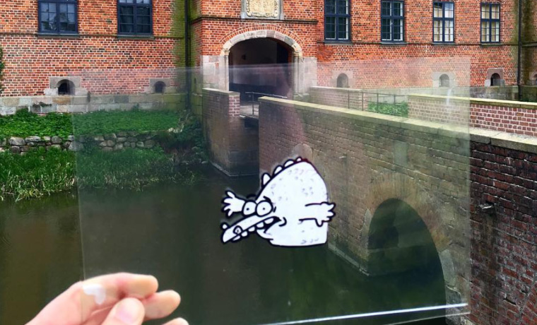 Artist Inserts Cartoons Into Real World, The Result Is Hilarious