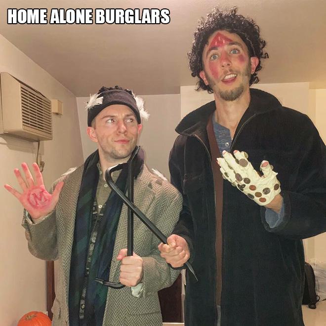 Home Alone Halloween costume.