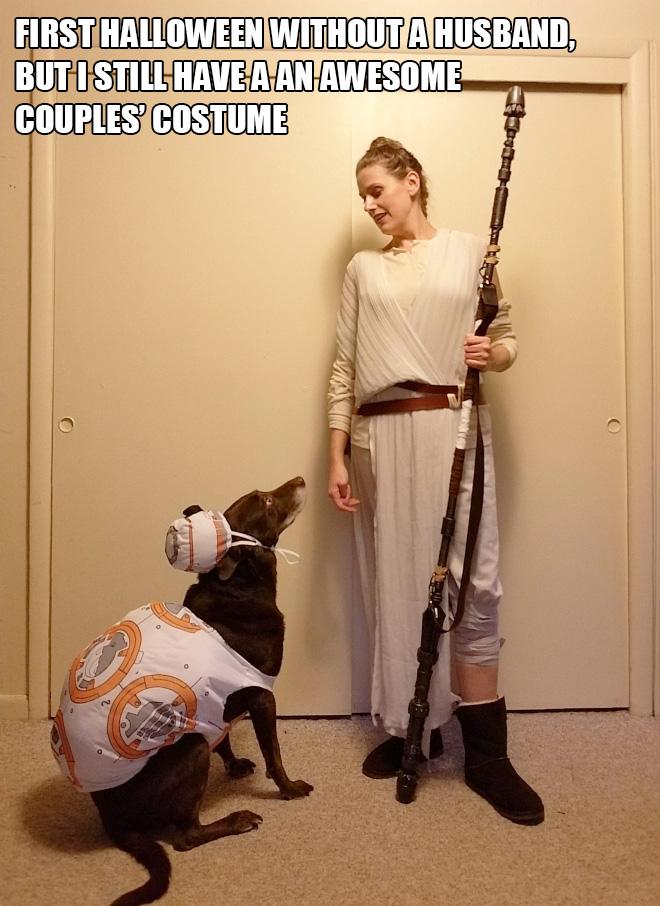 Star Wars Halloween costume.