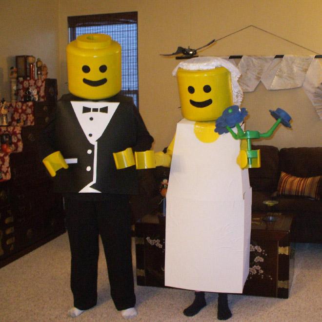 Lego Halloween costume.