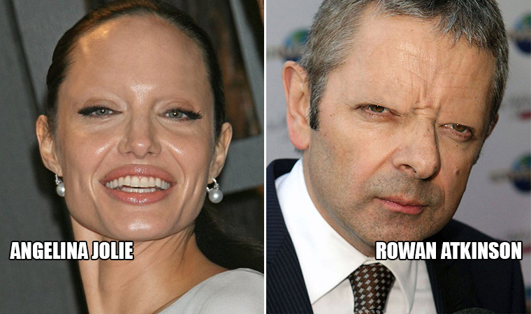 Horrifying Gallery of Celebrities Without Eyebrows