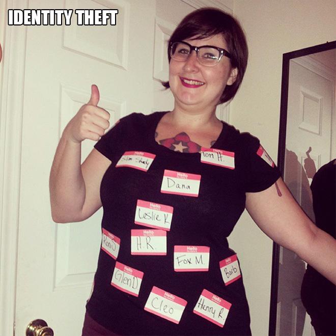 Identity theft.