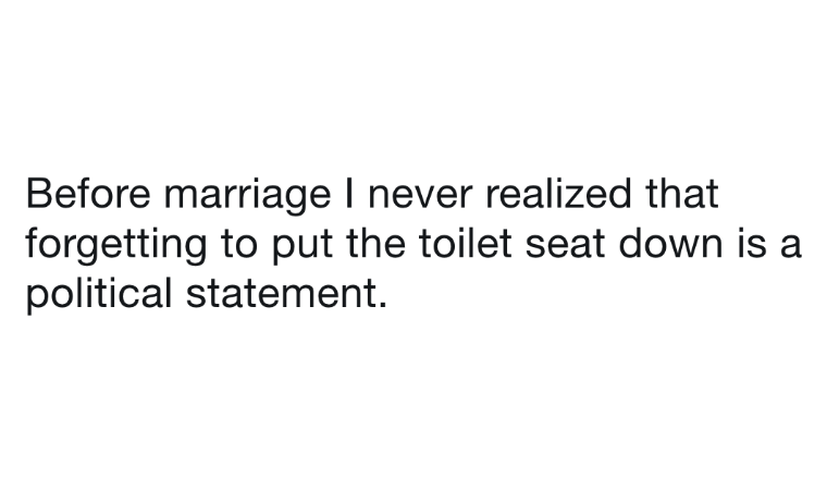 Husbands Tweeting About Marriage