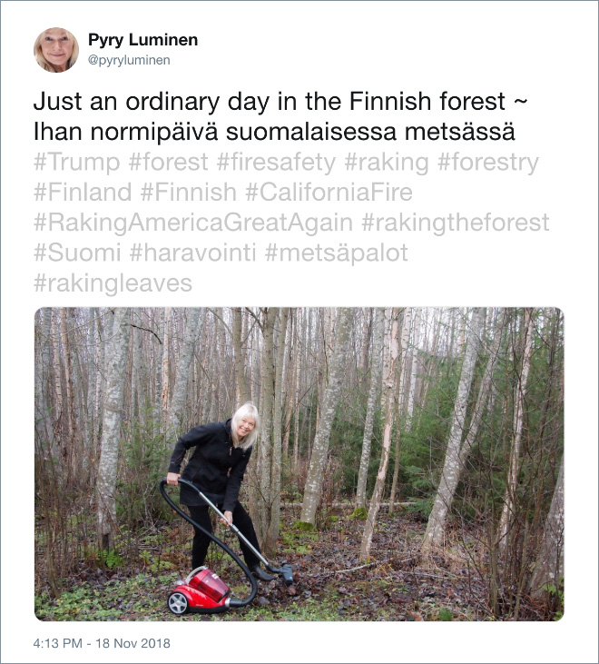 Just an ordinary day in Finland.