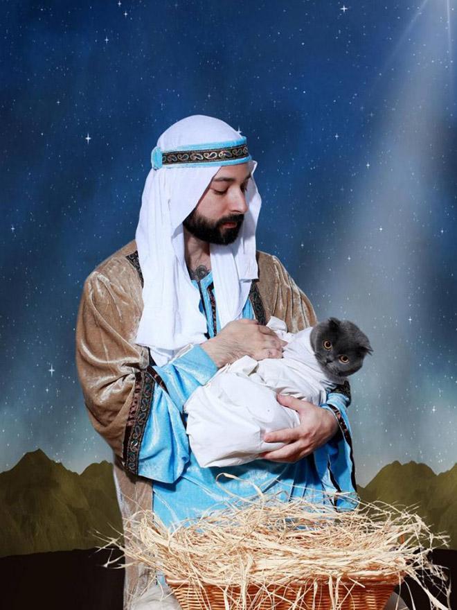 The baby Jesus has born!