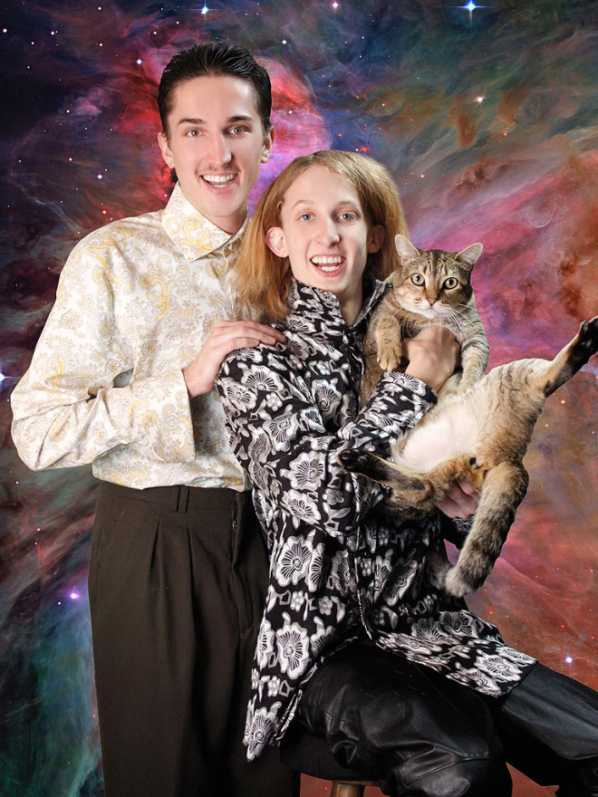 Awesome family portrait.