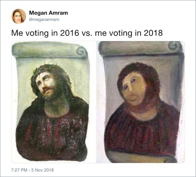 Me voting: 2016 vs. 2018.