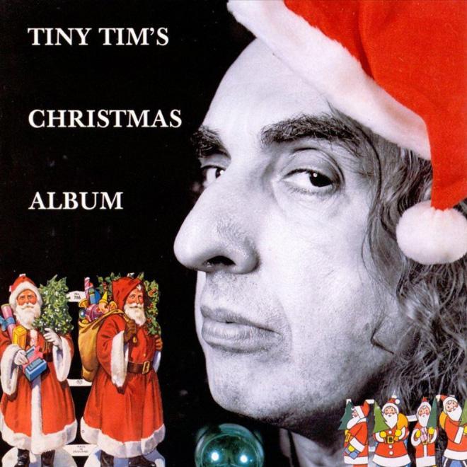 Tiny Tim can't do proper album cover art.