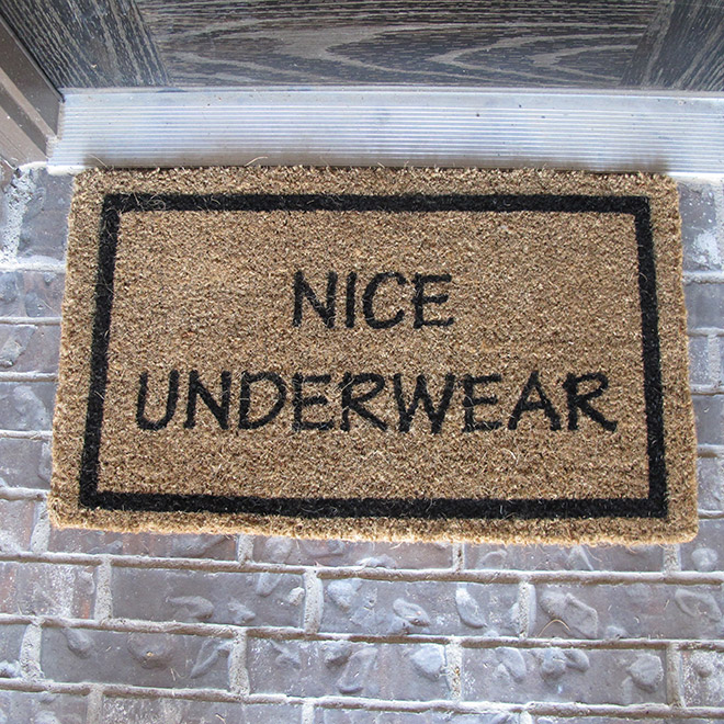 Nice undies!