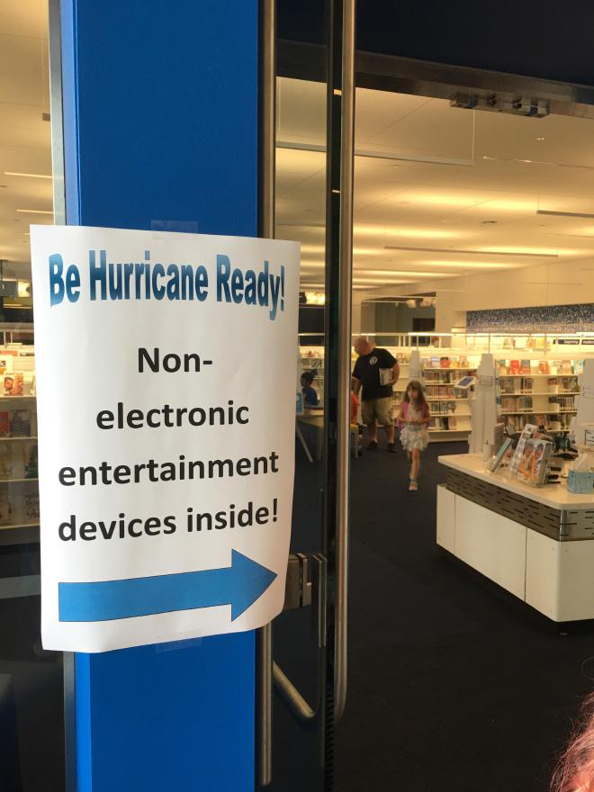 Be hurricane ready!