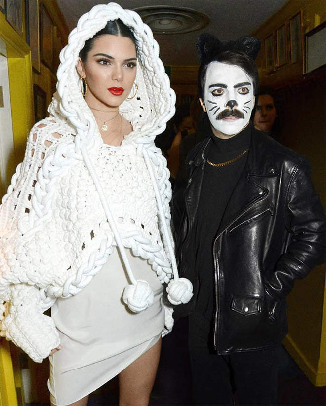 Kendall Jenner with Kirby Jenner.