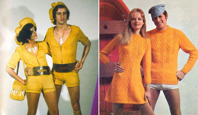 Ridiculous Matching Outfits From 1970s Fashion Magazine Ads