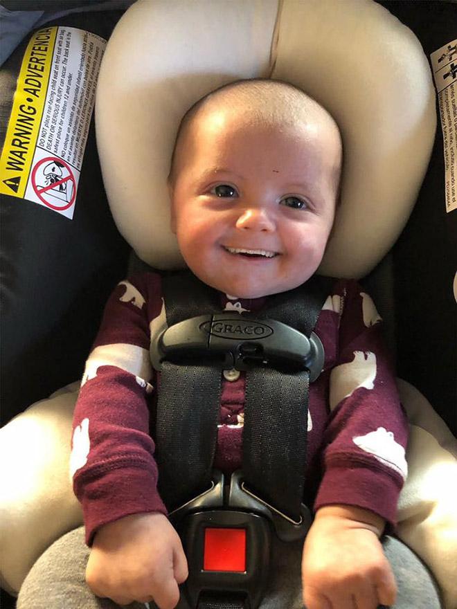 What if babies had grown-up teeth...