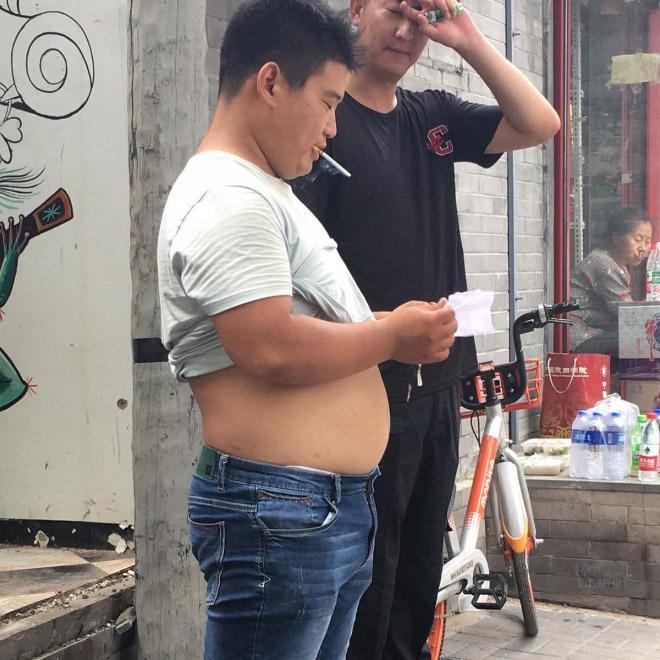 Weird Men S Fashion Trend In China The Beijing Bikini