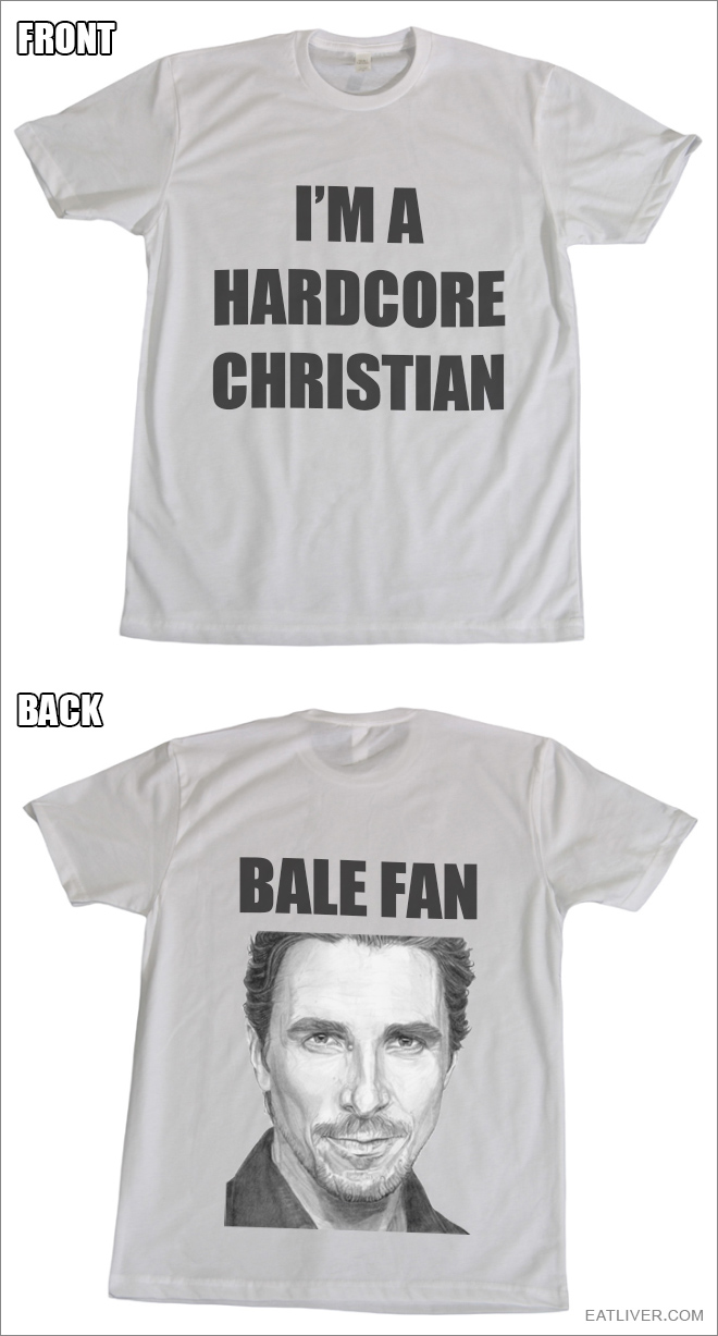 Brilliantly t-shirt design idea that will make christians hate you.
