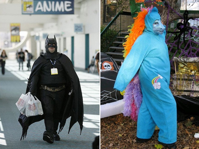 Funny cosplay fails.