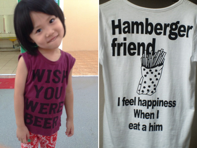 Foreigner Living In China Documents Their Hilariously Absurd Shirts