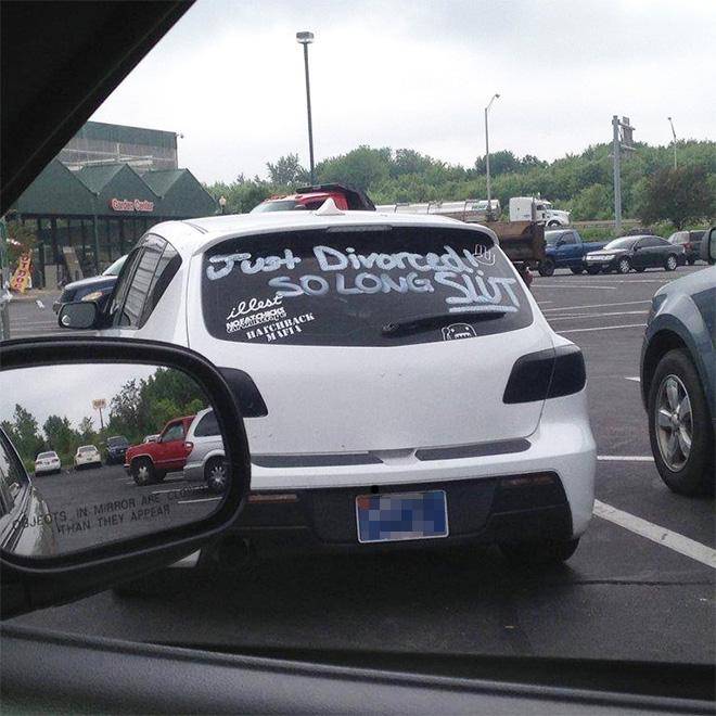 Just divorced. So long...