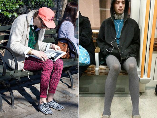 Latest hipster fashion.