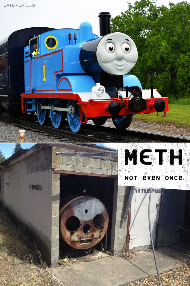 Meth: not even once.