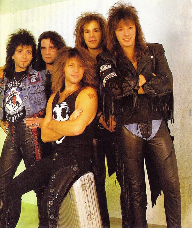 Jon Bon Jovi really loved wearing ridiculous outfits in 1980s...