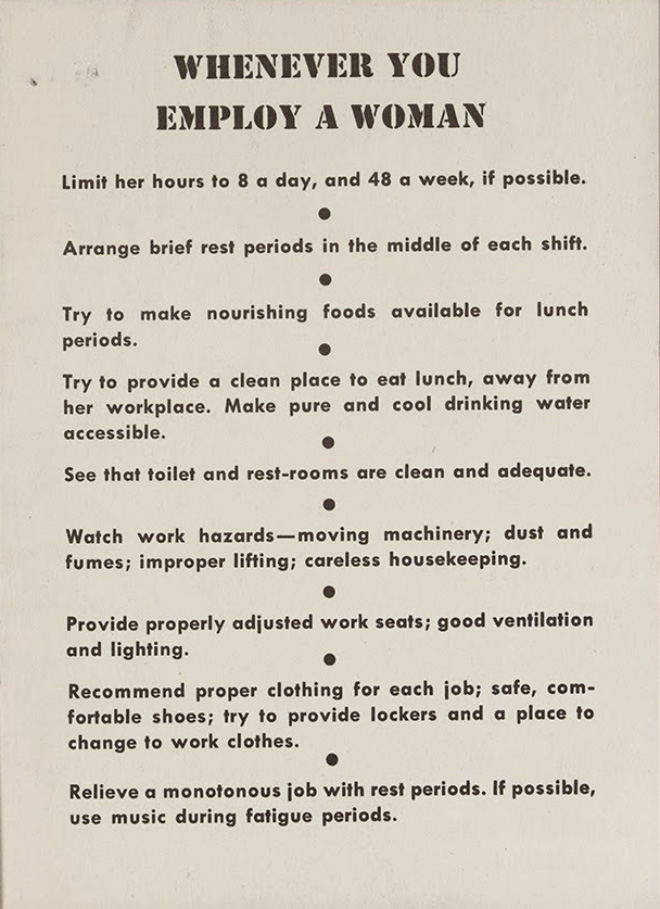 """Women Are Teachable"" Guide From 1940s"