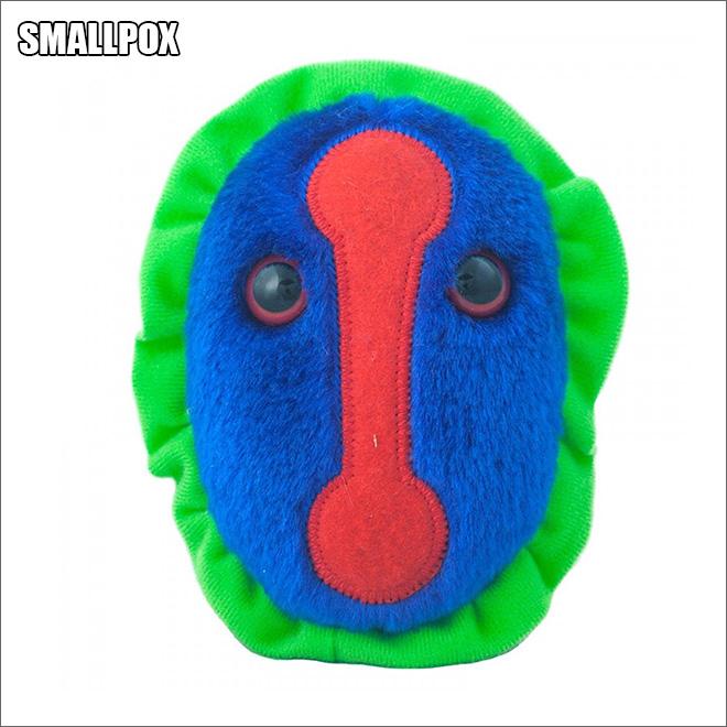 Cute disease plush toy.