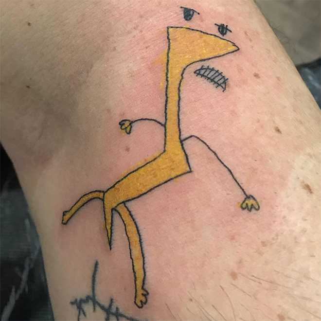 Would you pay money for such tattoo?