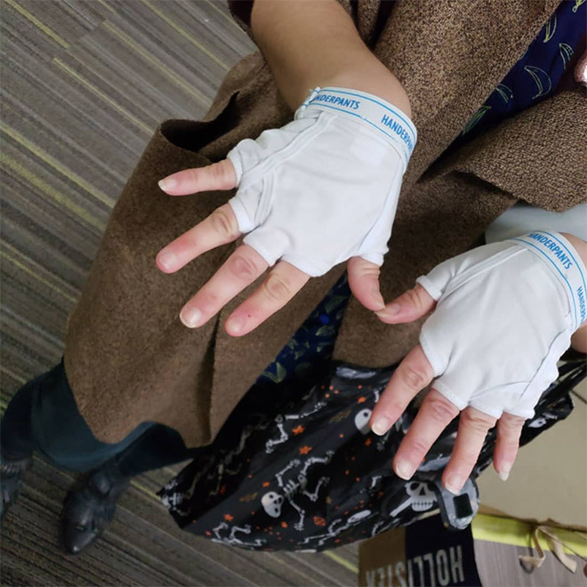 These are Handerpants: underpants for your hands.