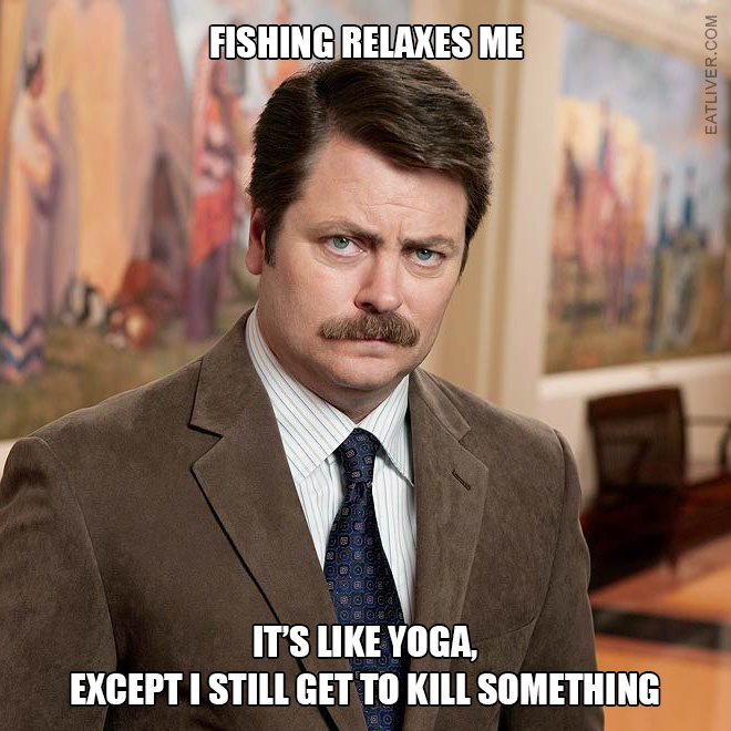 Brilliant Ron Swanson quote.