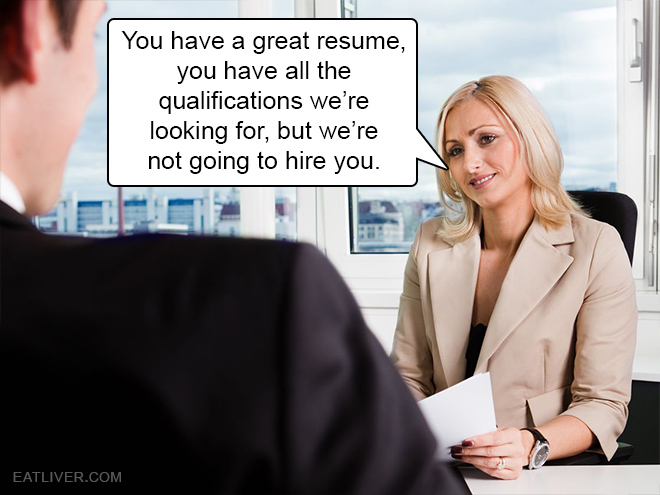 Friend zone job interview.