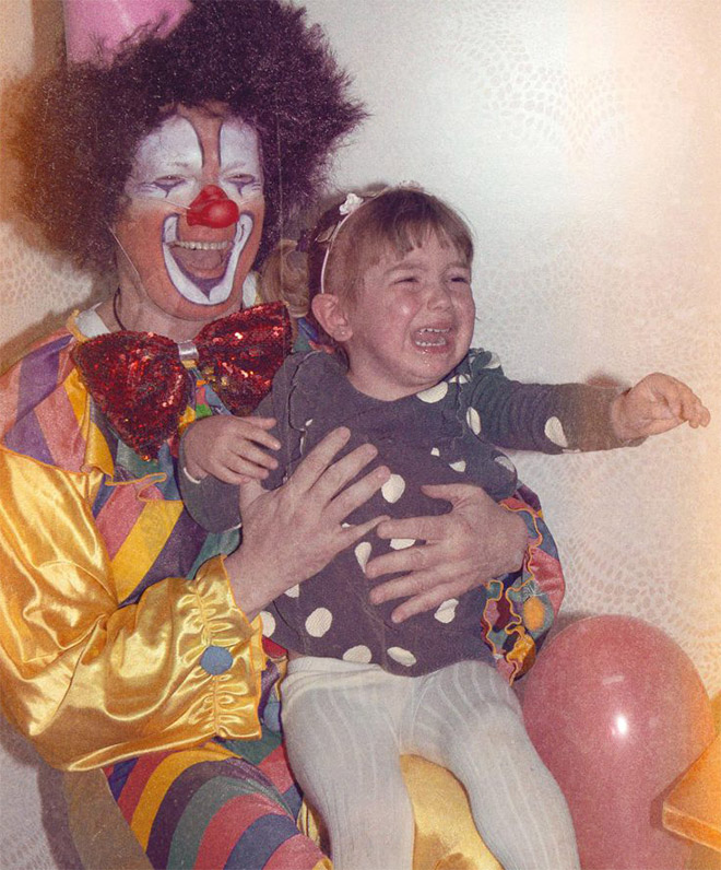 Clowns are hilarious, right?