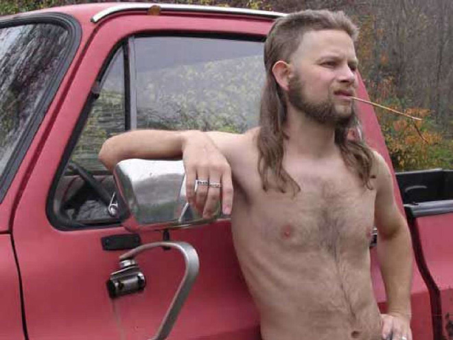 Truly epic mullet.
