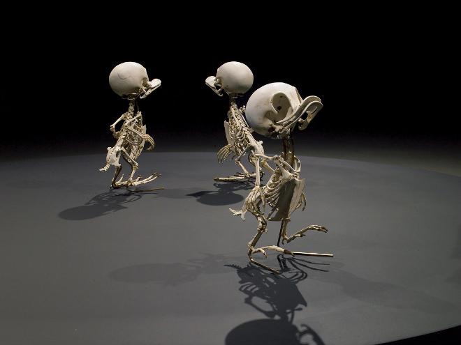 Cartoon skeleton by Hyungkoo Lee.