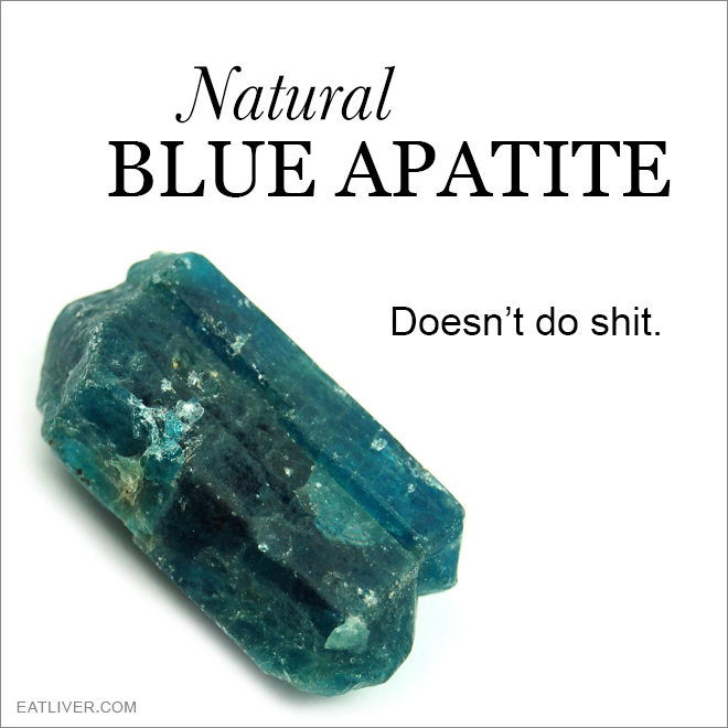 The real healing power of this crystal.