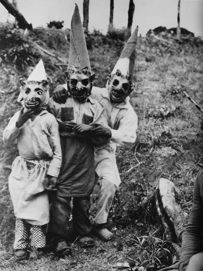 Vintage Halloween When Costumes Were Creepy Instead of Sexy