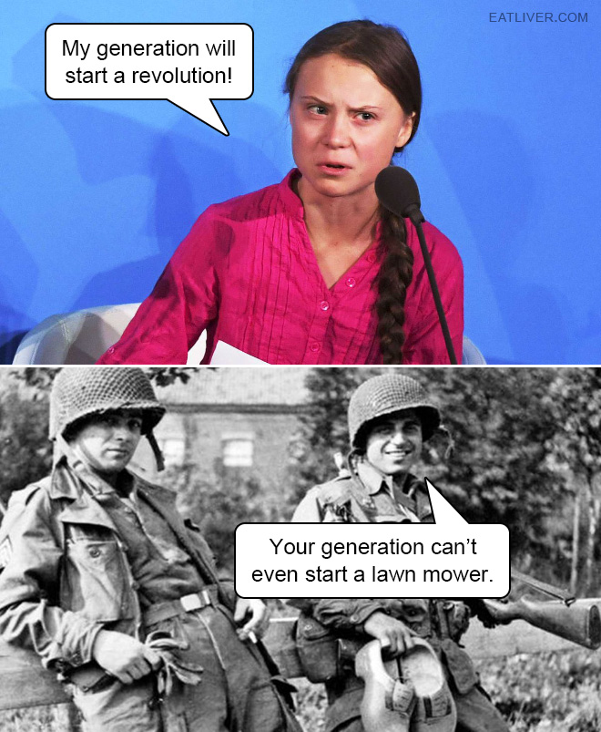 Revolution: expectations vs. reality.