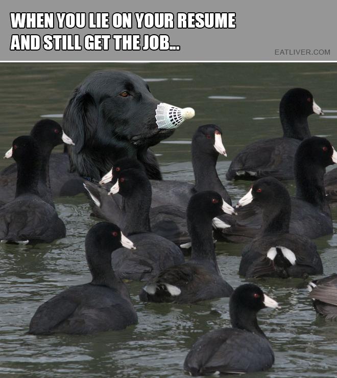 Still got the job.