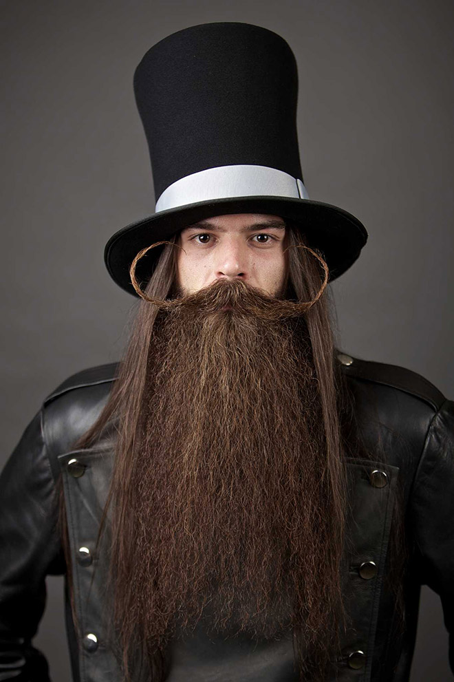 Truly epic beard.