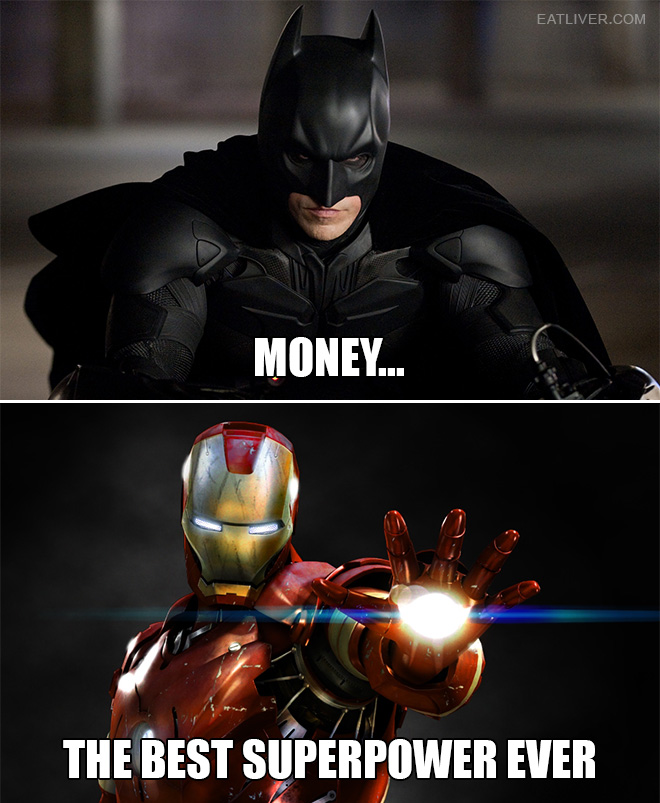 The best superpower ever.