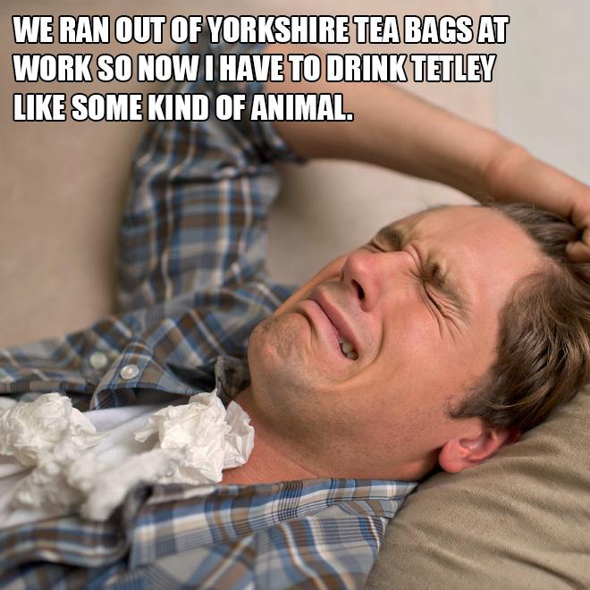 A very, very British problem.