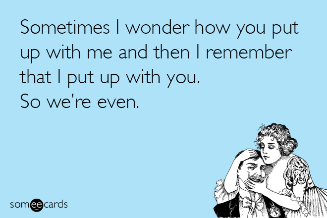 If love cards told the truth...