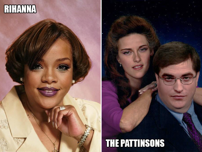 If celebrities were ordinary Americans...