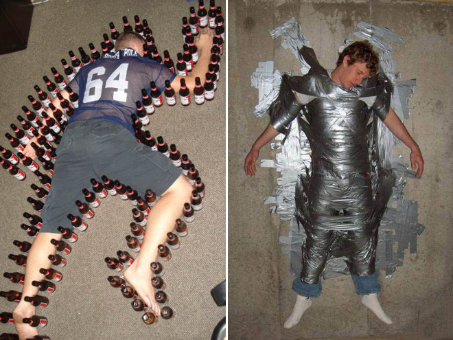 It's not a good idea to fall asleep at the party.